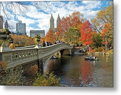Allan Einhorn - Central Park Autumn Citys... Print
