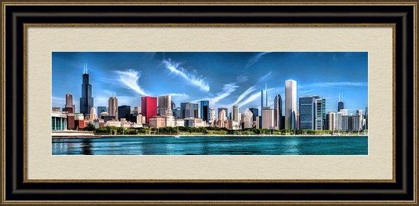Christopher Arndt - Chicago Skyline Panorama Print