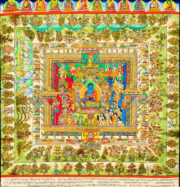 Lanjee Chee - The Mandala of Medicine B... Print