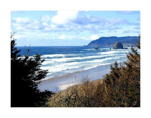 Will Borden - Cannon Beach Vista Print