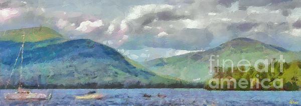 Anne Kitzman - Lake George New York in S... Print