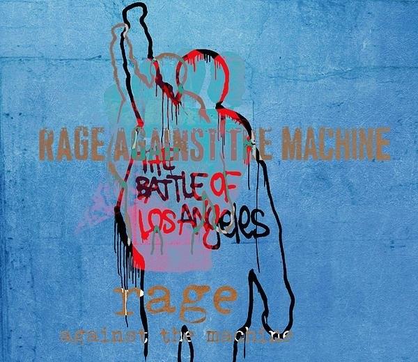 Dan Sproul - Rage Against The Machine Print