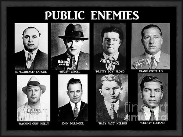 Paul Ward - Original Gangsters - Publ... Print