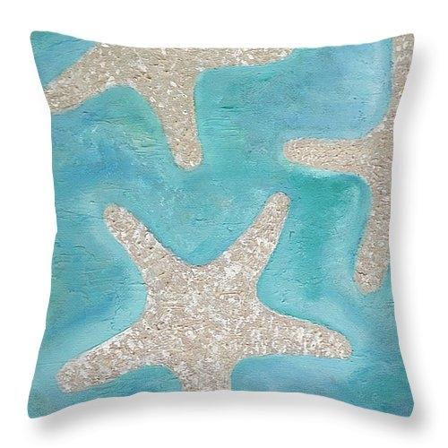 Angela Hawkins - Three Starfish Print
