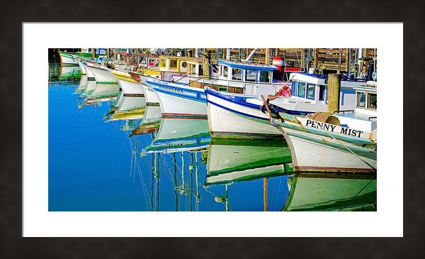 DMValdez Photography - Pretty Maids All in a Row Print