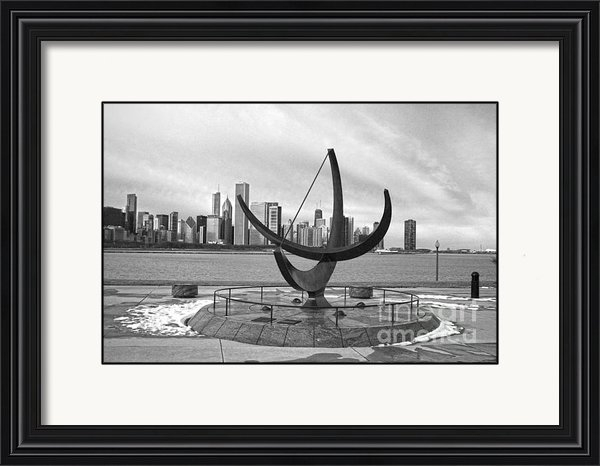 David Bearden - The Henry Moore Sundial Print