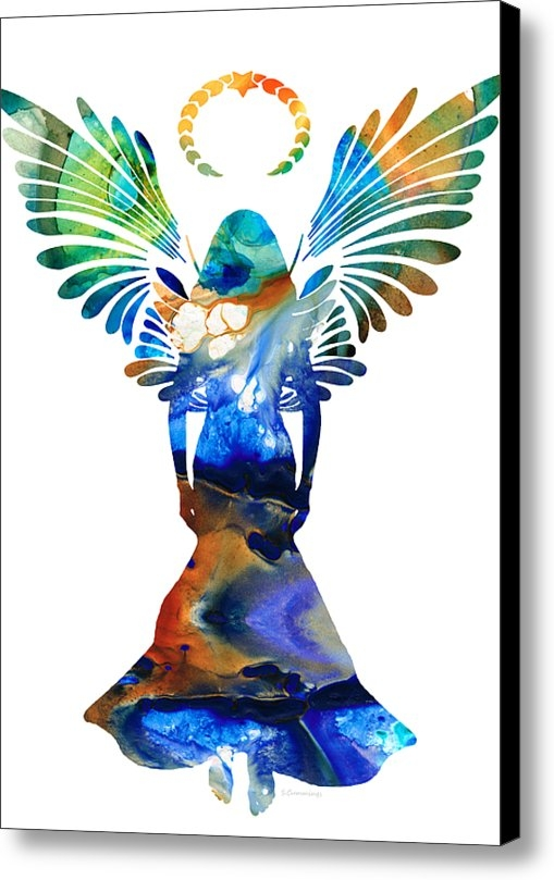 Sharon Cummings - Healing Angel - Spiritual... Print