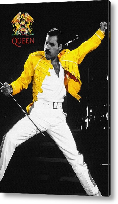 Don Kuing - Freddie Mercury live in w... Print
