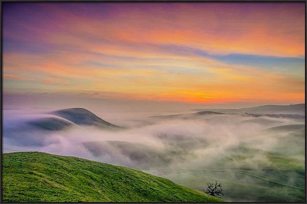 Marc Crumpler - Clouds And Fog At Sunrise Print