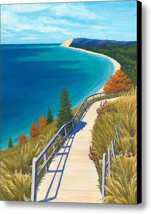 Karin Petersen - Empire Bluff Trail Print