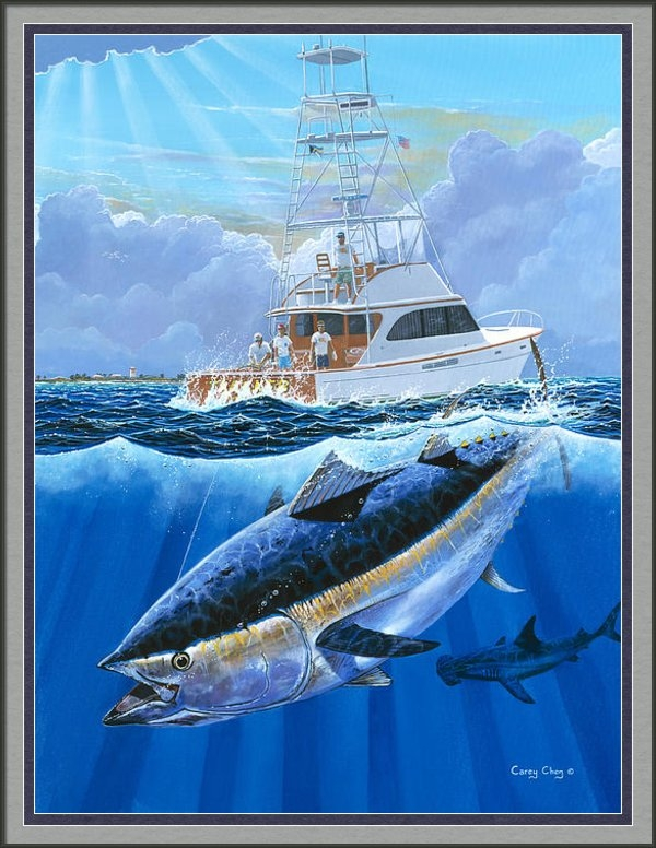 Carey Chen - Giant Bluefin Off00130 Print