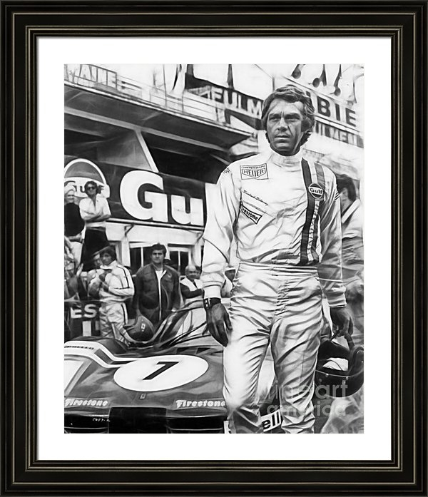 Marvin Blaine - Steve McQueen Collection Print