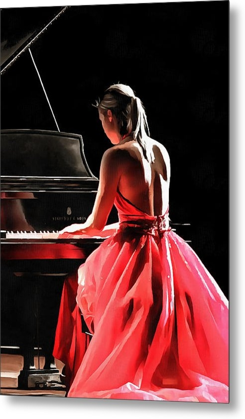 CarolLMiller Photography - Pianist Print