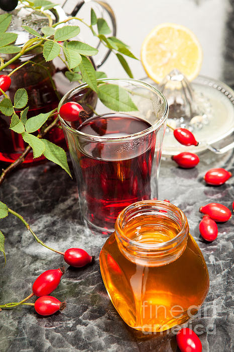 Wolfgang Steiner - Rosehip Tea With Honey An... Print