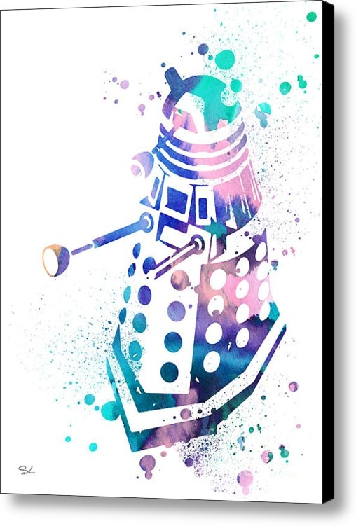 Luke and Slavi - Dalek 2 Print