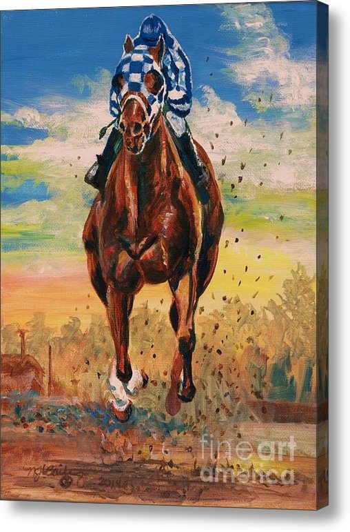 Nancy J Bailey - Secretariat - I Work Alon... Print