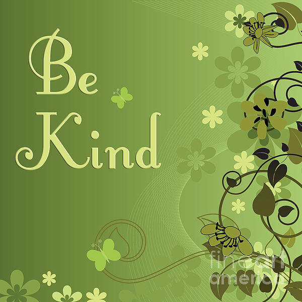 Joseph Keane - 249- Be Kind Print