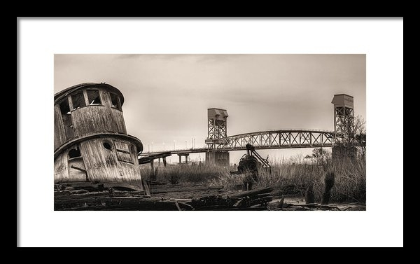 JC Findley - Cape Fear Memorial Bridge Print
