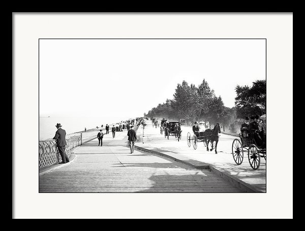 Daniel Hagerman - North Lake Shore Drive - ... Print