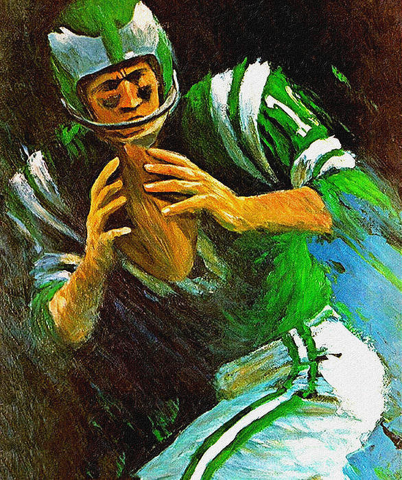 Big 88 Artworks - Philadelphia Eagles 1966 ... Print