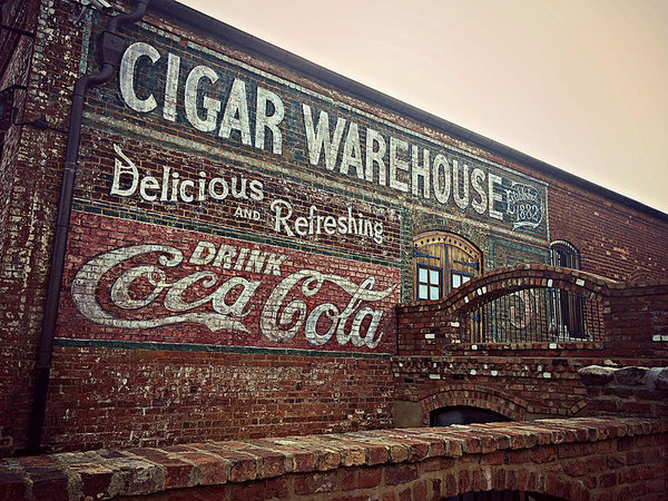 Kathy Barney - Cigar Warehouse Greenvill... Print