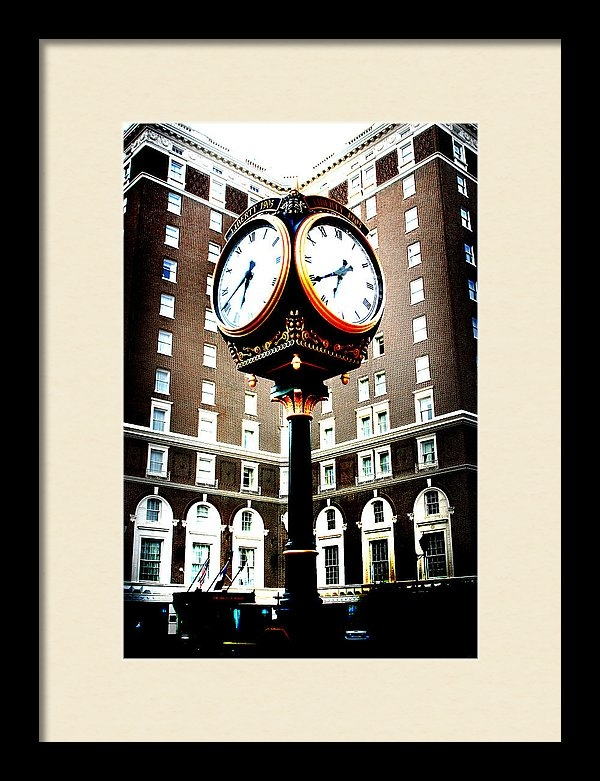Kelly Hazel - Clock Print
