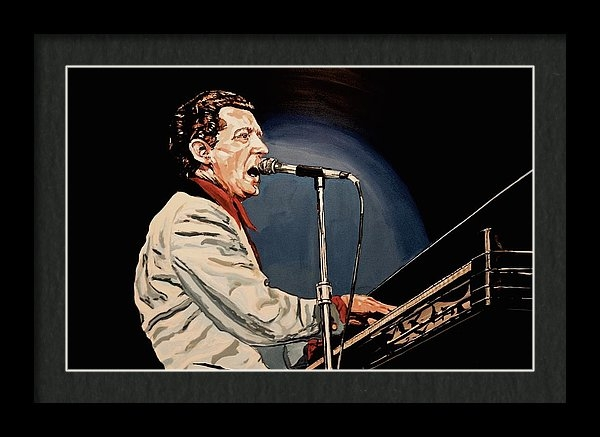 Ian Mackenzie - Jerry Lee Lewis - Two  Print