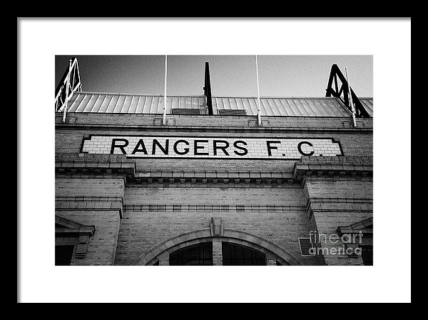 Joe Fox - Ibrox stadium home ground... Print
