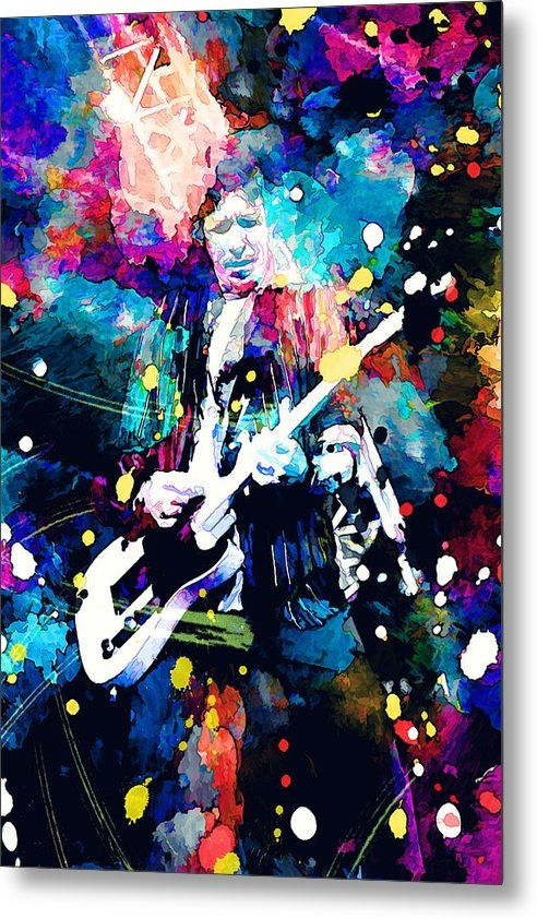 Rosalina Atanasova - Keith Richards Print