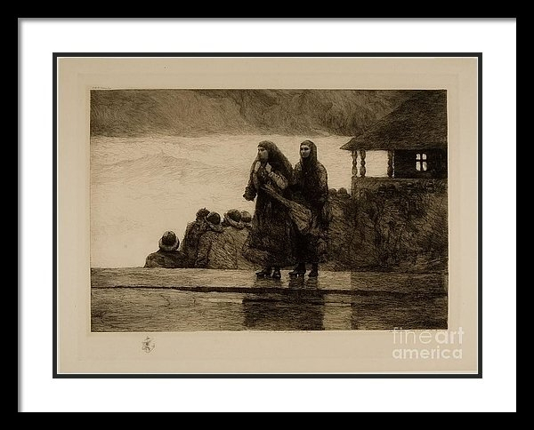 Winslow Homer - Perils Of The Sea Print