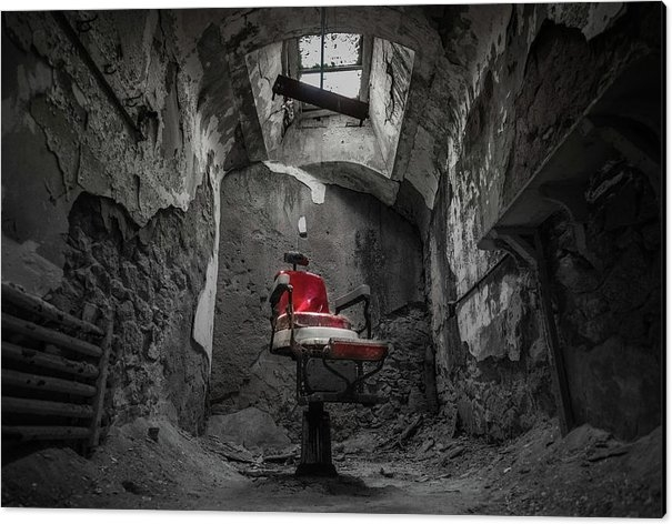 Kristopher Schoenleber - The Red Chair Print