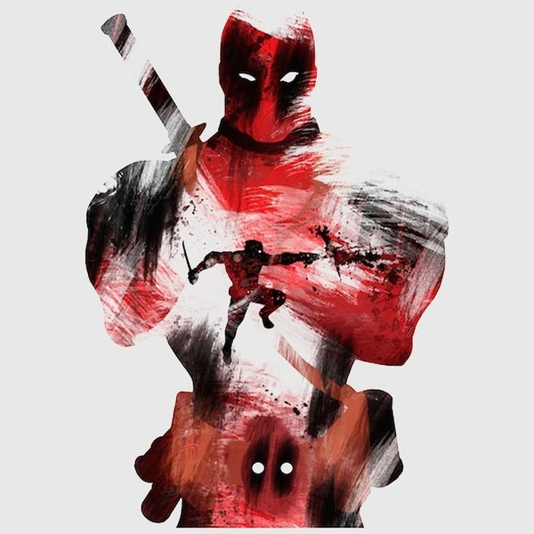 Brick Jensen - Deadpool aka the Merc wit... Print