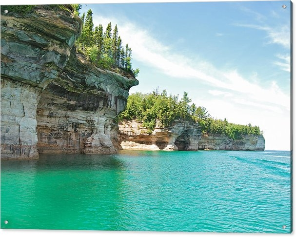 Michael Peychich - Pictured Rocks Print