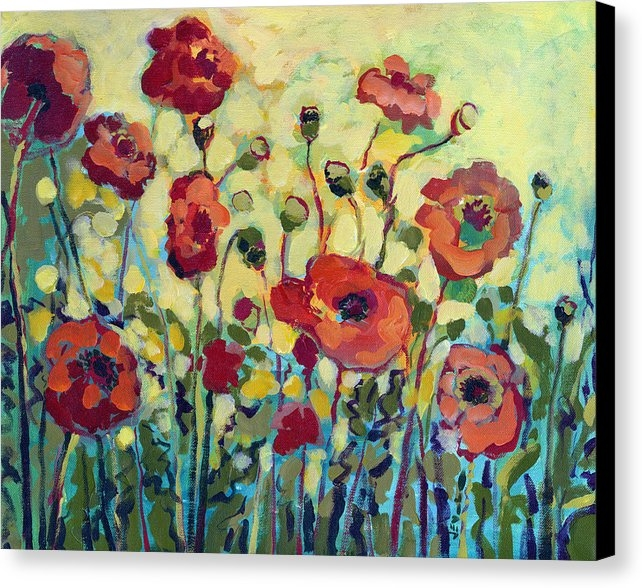 Jennifer Lommers - Anitas Poppies Print