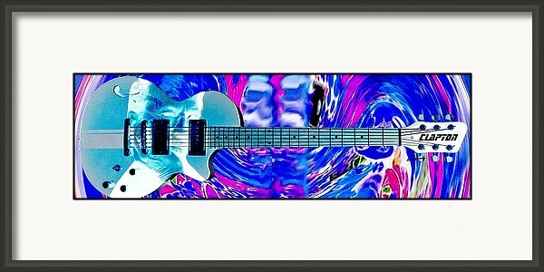 Anthony Caruso - Eric Clapton Guitar Print