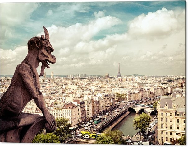 Vivienne Gucwa - Paris - The City from Abo... Print