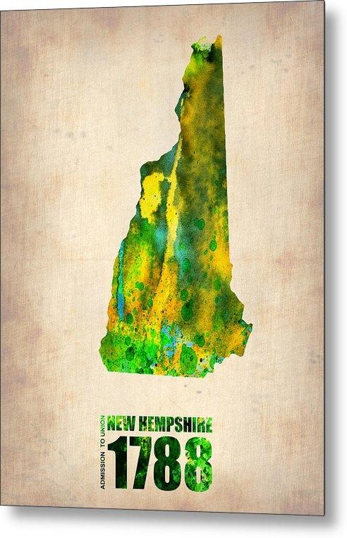 Naxart Studio - New Hampshire Watercolor ... Print