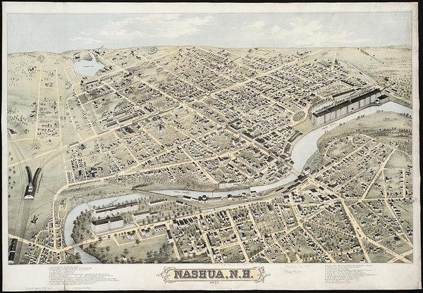 CartographyAssociates - Vintage Pictorial Map of ... Print