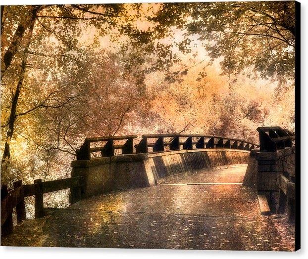 Joann Vitali - Golden Pathway - Mine Fal... Print