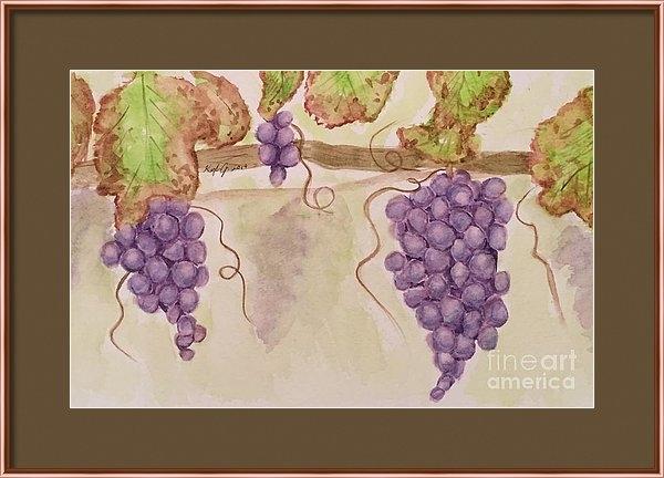 Kayla Jimenez - Grapevine Print