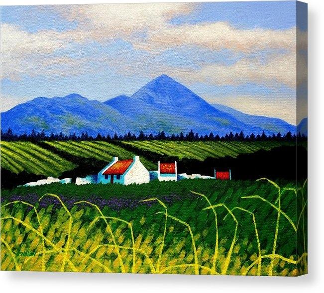 John  Nolan - Croagh Patrick County May... Print