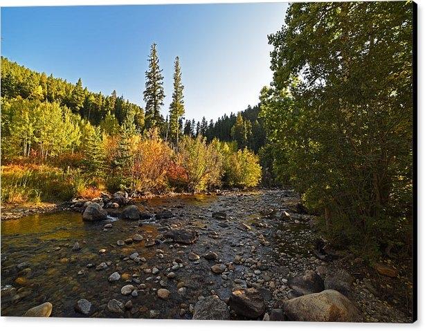 Toby McGuire - Boulder Colorado Canyon C... Print