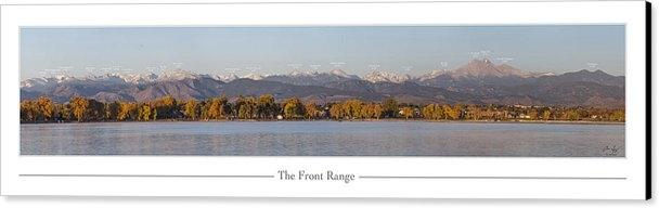 Aaron Spong - Front Range with Peak Lab... Print