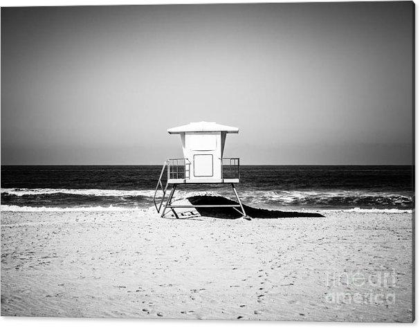 Paul Velgos - California Lifeguard Towe... Print