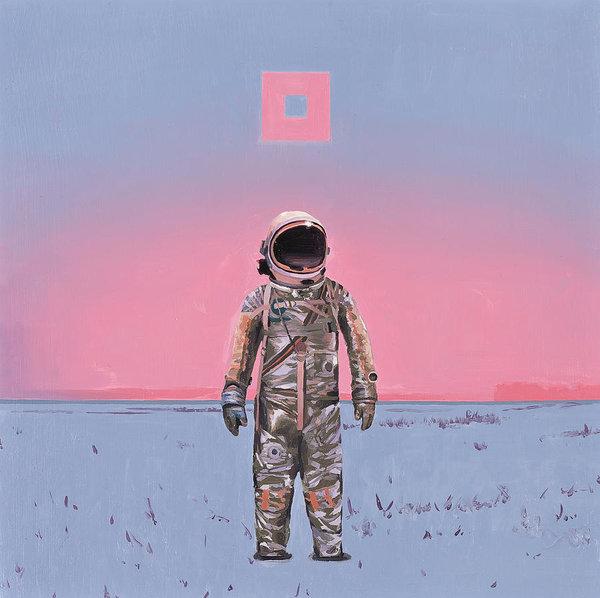 Scott Listfield - Pink Square Print