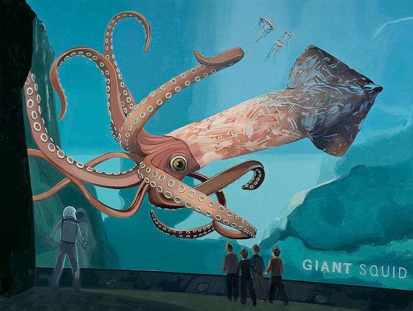 Scott Listfield - The Squid Print