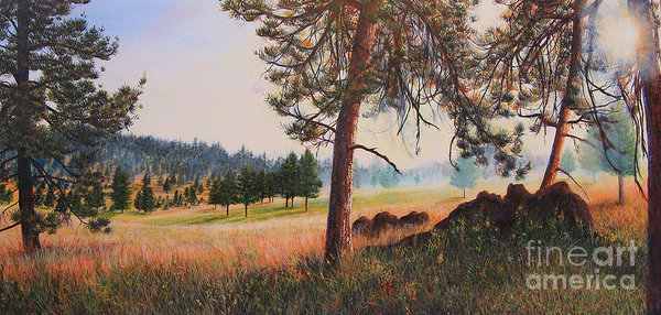 Jeanette French - First Nation Meadow Print