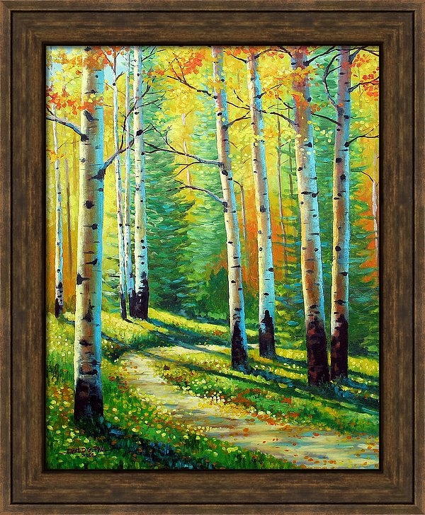 David G Paul - Colors Of The Season Print