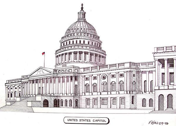 Frederic Kohli - United States Capitol Print