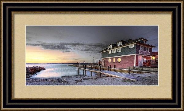 Brian Fisher - Chestnut Street Boathouse Print
